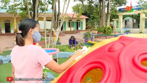Vì trẻ thơ: Chuẩn bị những điều kiện cho trẻ tới trường