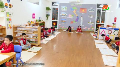 Vì trẻ thơ: Dạy học theo phương pháp giáo dục Montessori
