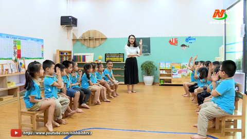Vì trẻ thơ: Thư viện thân thiện - Giúp trẻ yêu thích đọc sách