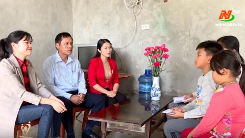 Vòng tay nhân ái: Hỗ trợ em Đinh Lê Văn Hải, xã Yên Đồng, huyện Yên Mô
