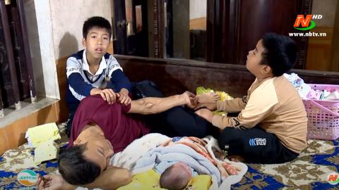 Vòng tay nhân ái: Hỗ trợ gia đình anh Cao Văn Nam, xã Gia Sinh, huyện Gia Viễn