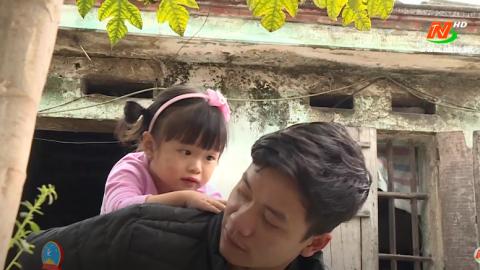 Vòng tay nhân ái: Hỗ trợ gia đình anh Đoàn Văn Hưng, xã Yên Lâm, huyện Yên Mô