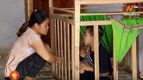 Vòng tay nhân ái: Hỗ trợ gia đình chị Bùi Hoài Phượng, xã Quảng lạc, huyện Nho Quan