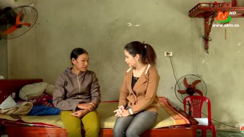 Vòng tay nhân ái: Hỗ trợ gia đình chị Nguyễn Thị Diện, xã Gia Tân, huyện Gia Viễn