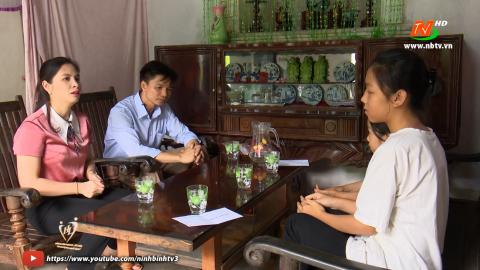 Vòng tay nhân ái: Hỗ trợ gia đình chị Nguyễn Thị Hải, xã Ninh Xuân, huyện Hoa Lư