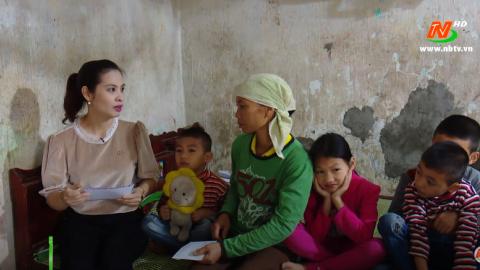 Vòng tay nhân ái: Hỗ trợ gia đình chị Trịnh Thị Chung, xã Trường Yên, huyện Hoa Lư