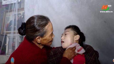 Vòng tay nhân ái: Hỗ trợ gia đình em Lê Thị Anh Thư, xã Khánh Phú, huyện Yên Khánh