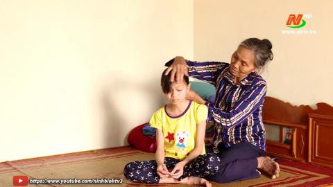 Vòng tay nhân ái: Hỗ trợ gia đình em Nguyễn Thị Thu Ngân, xã Khánh Hội, huyện Yên Khánh