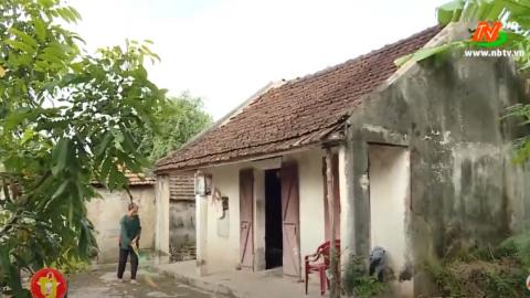 Vòng tay nhân ái: Hỗ trợ gia đình ông Trần văn Tiến, xã Đồng Hướng, huyện Kim Sơn