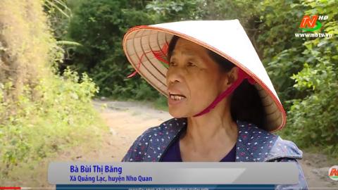 Xây dựng Nông thôn mới: Khó khăn trong làm đường giao thông ở Quảng Lạc