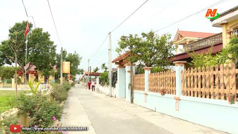 Xây dựng Nông thôn mới: Phụ nữ Yên Mô chung sức xây dựng nông thôn mới