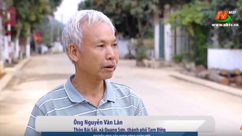 Xây dựng Nông thôn mới: Quang Sơn nỗ lực hoàn thành nông thôn mới kiểu mẫu