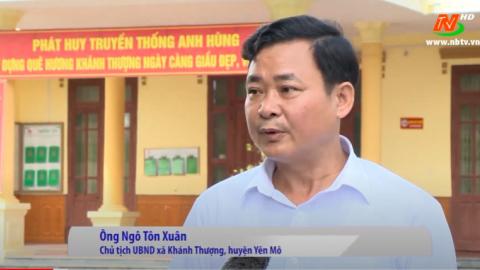 Xây dựng Nông thôn mới: Yên Mô phấn đấu hoàn thành huyện nông thôn mới