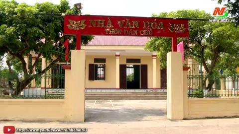 Xây dựng Nông thôn mới:  Yên Từ - Miền quê đáng sống