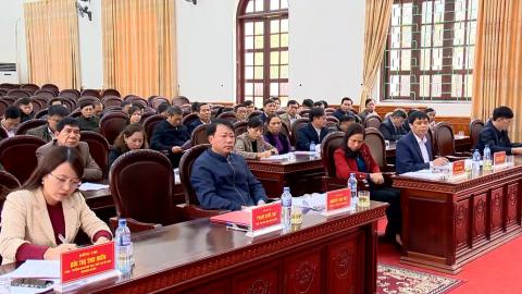 Yên Mô triển khai kế hoạch lấy ý kiên của người dân về xây dựng Huyện nông thôn mới